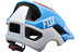 Fox Metah Graphics helm rood/blauw